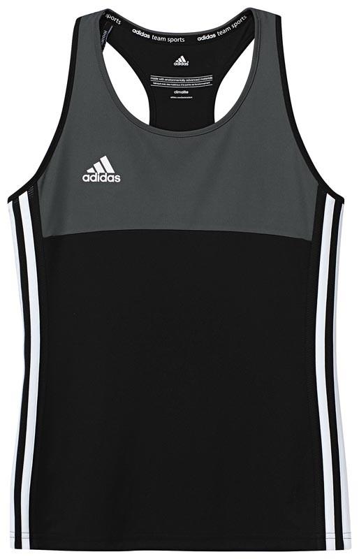 Adidas T16 Climacool Sleeveless Tee Jeugd Meisjes Black - Online kopen