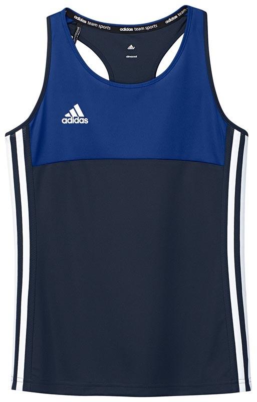 Adidas T16 Climacool Sleeveless Tee Jeugd Meisjes Navy - Koop online