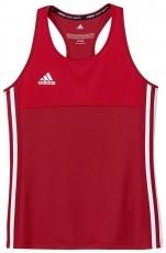 Adidas T16 Climacool Sleeveless Tee Jeugd Meisjes Red - Bestel online