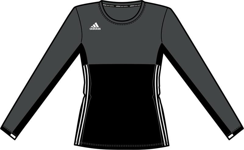 Adidas T16 Climacool Long Sleeve Tee Jeugd Meisjes Black DISCOUNT DEALS