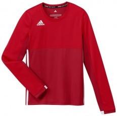 Adidas T16 Climacool Long Sleeve Tee Jeugd Meisjes Red - Online kopen