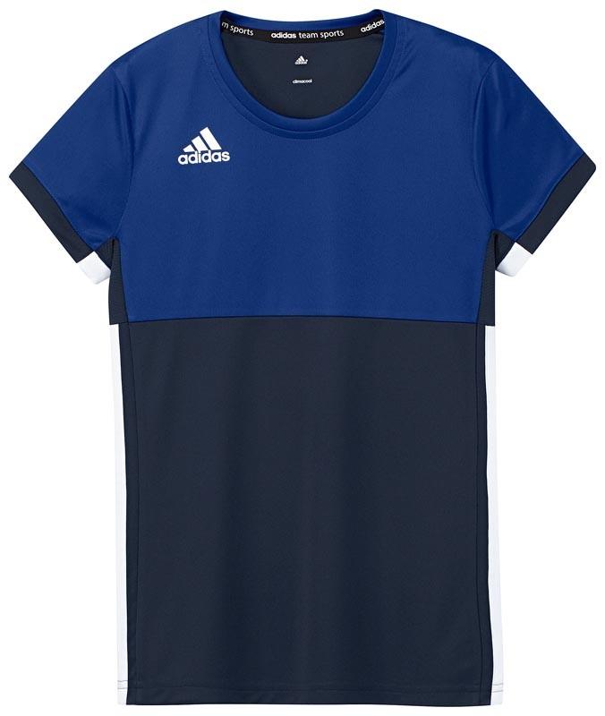 Adidas T16 Climacool Short Sleeve Tee Jeugd Meisjes Navy - Kopen