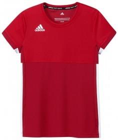Adidas T16 Climacool Short Sleeve Tee Jeugd Meisjes Red - Bestellen
