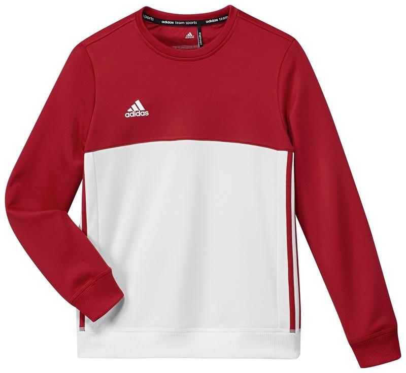 Adidas T16 Crew Sweat Jeugd Red - Koop online