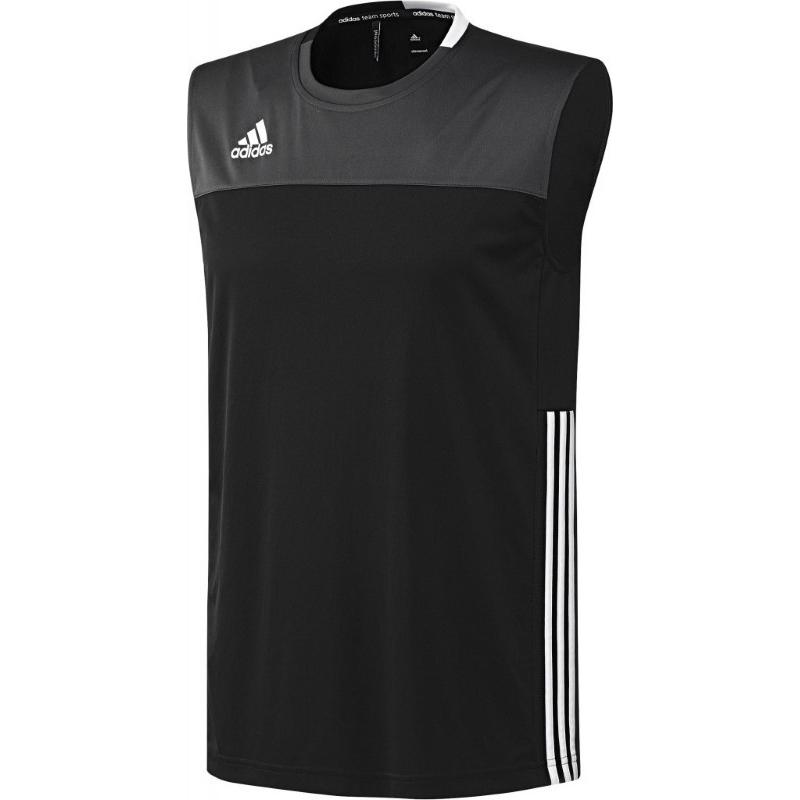 Adidas T16 Climacool Sleeveless Tee Men Black DISCOUNT DEALS