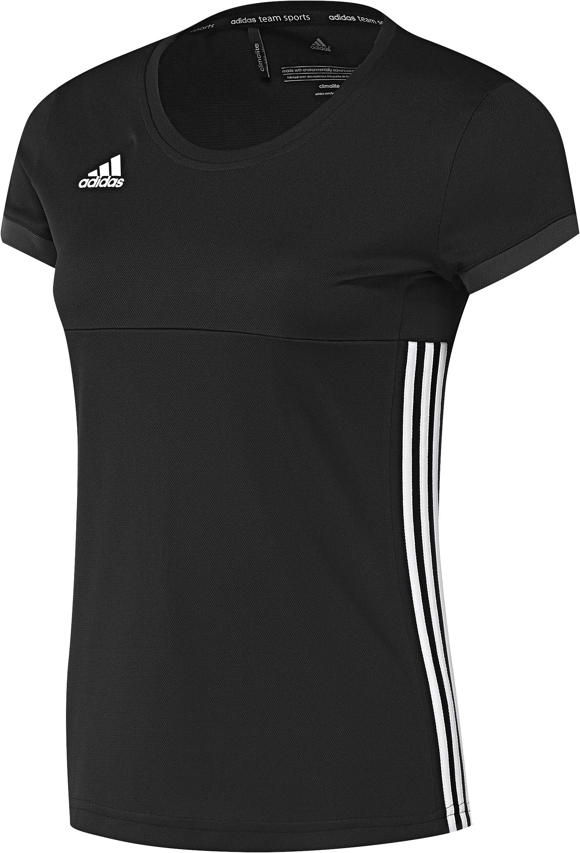 Adidas T16 Team Short Sleeve Tee Women Black (polyester/katoen)