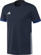 Adidas T16 Team Short Sleeve Tee Men Navy (polyester/katoen)