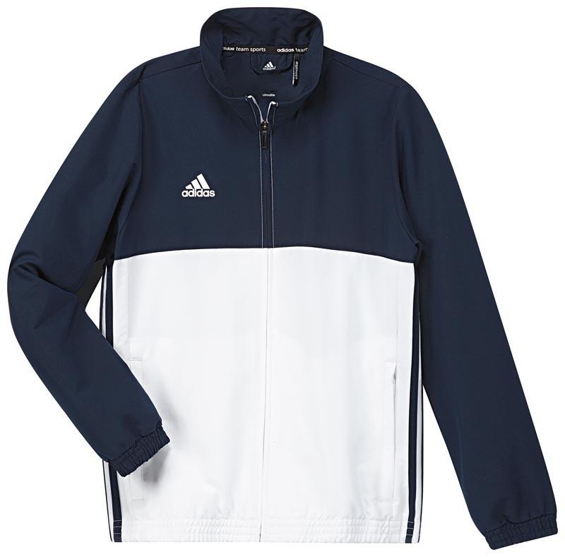 Adidas T16 Team Jacket Jeugd Navy - Online bestellen