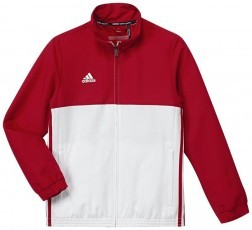 Adidas T16 Team Jacket Jeugd Red - Koop online