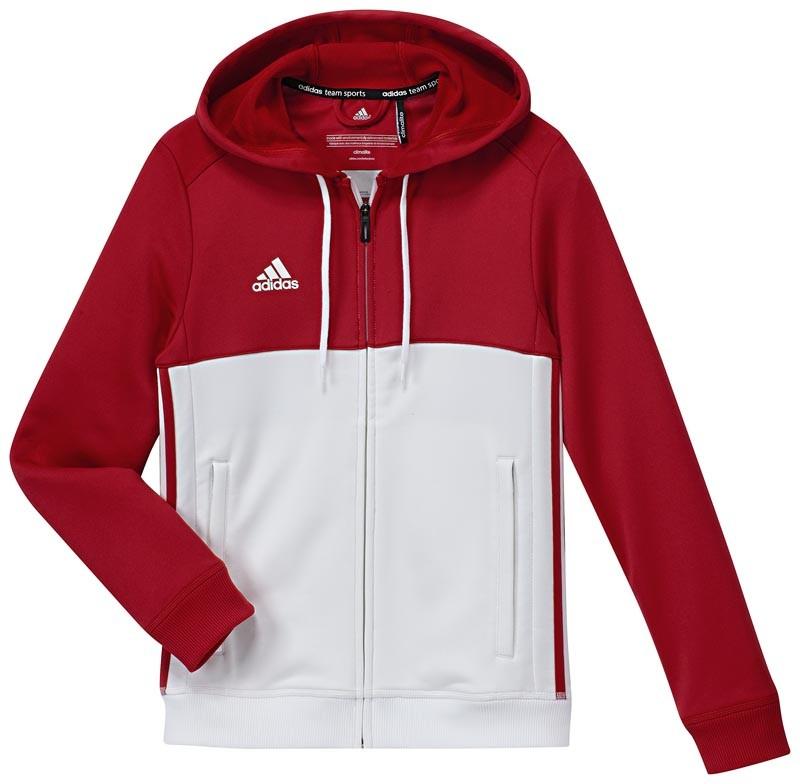Adidas T16 Hoody Jeugd Red - Koop online