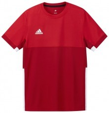 Adidas T16 Climacool Short Sleeve Tee Jeugd Jongens Red