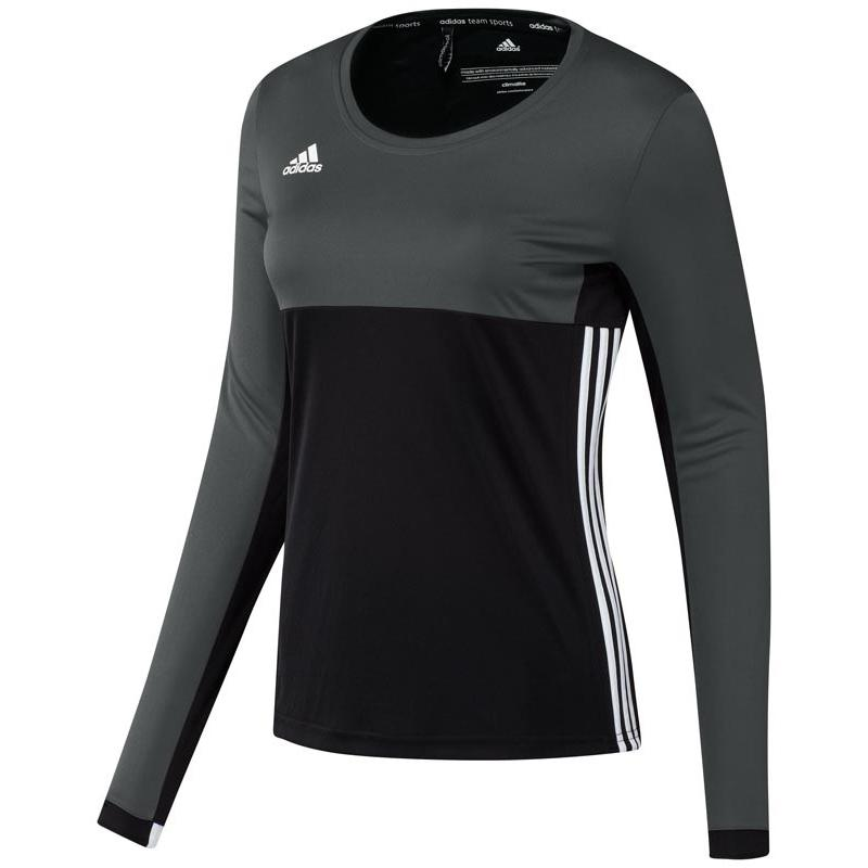 Adidas T16 Climacool Long Sleeve Tee Women Black DISCOUNT DEALS