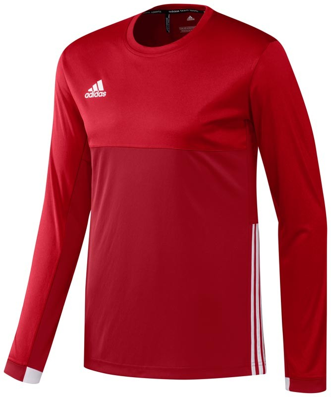 Adidas T16 Climacool Long Sleeve Tee Men Red
