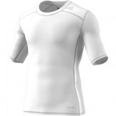 Adidas Tech Fit Base Short Sleeve Tee Mens Wit thermoshirt online kopen