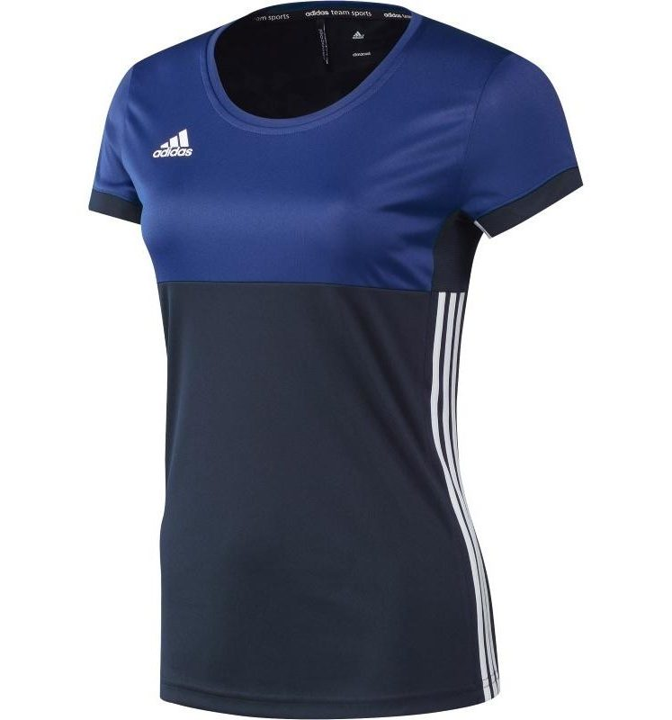Adidas T16 Climacool Short Sleeve Tee Women Navy