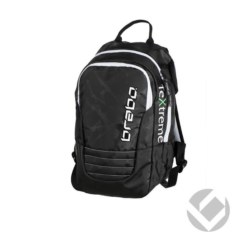 3ac6e935078 De brabo hockey textreme backpack is een stoere en makkelijke rugzak om mee  te nemen naar