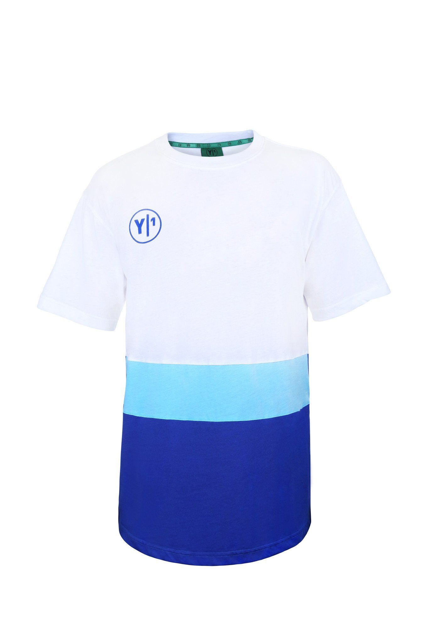 Y1 Hockey London Blue and White Retro T-shirt online kopen