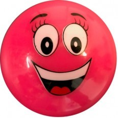 Hockeybal Emoticon / Smiley | Pink Smile online kopen
