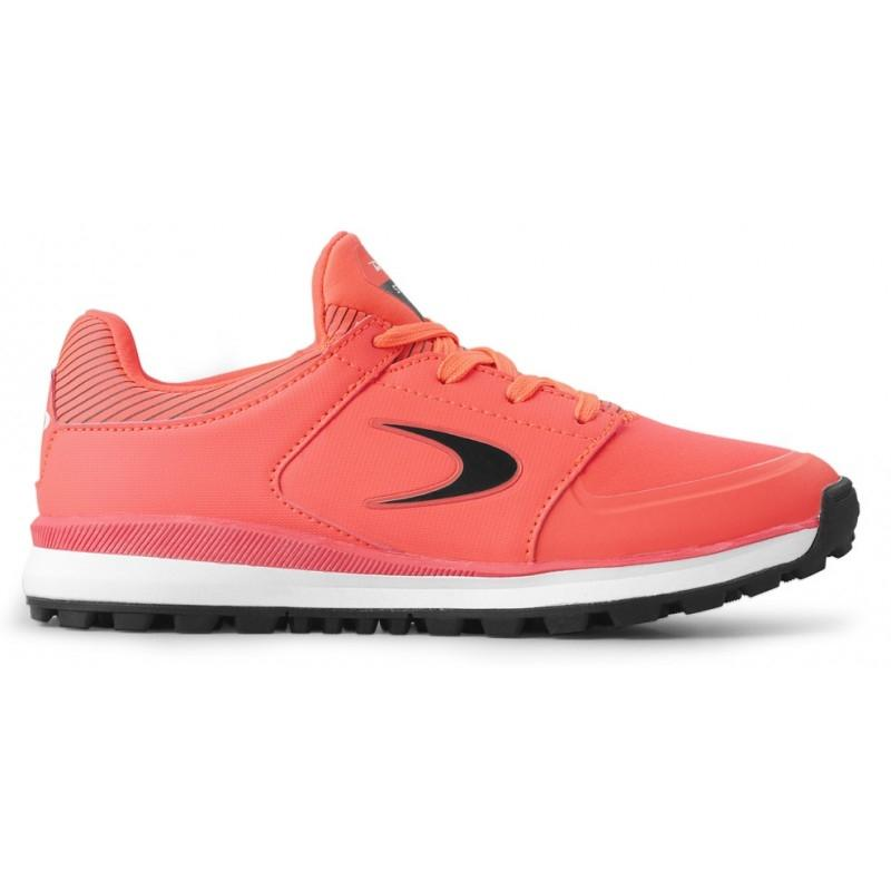Dita STBL 100 Junior Fluo-red/Black hockeyschoenen