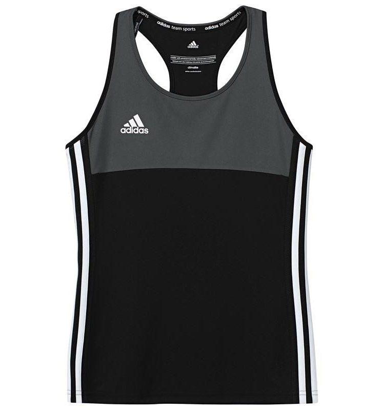 Adidas T16 Climacool Sleeveless Tee Jeugd Meisjes Black DISCOUNT DEALS