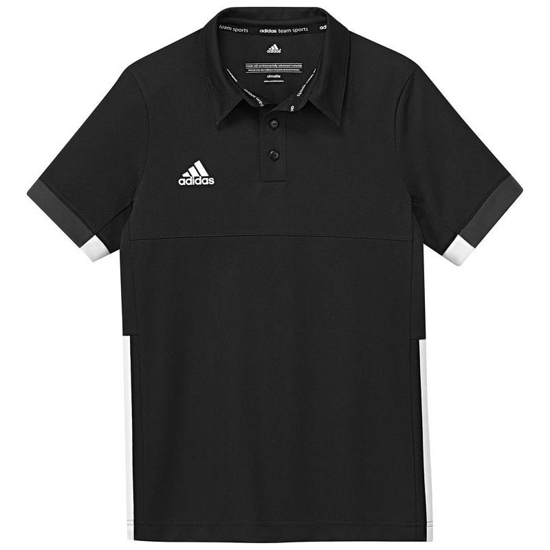 Adidas T16 Team Polo Jeugd Jongens Black DISCOUNT DEALS
