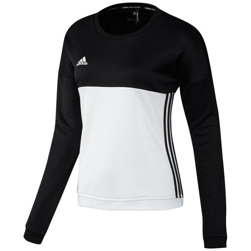 Adidas T16 Crew Sweat Women Black DISCOUNT DEALS