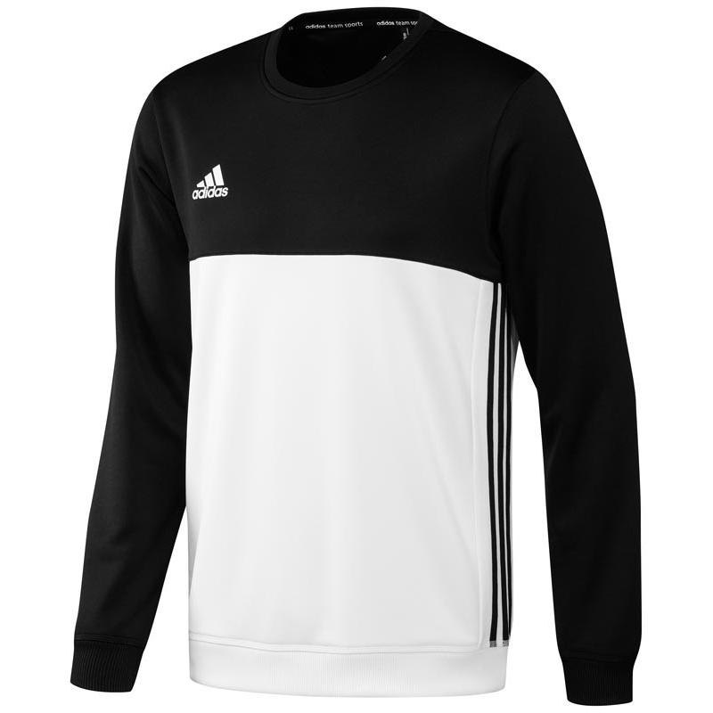 0d1ee51c421 Adidas T16 Crew Sweat Men Black DISCOUNT DEALS