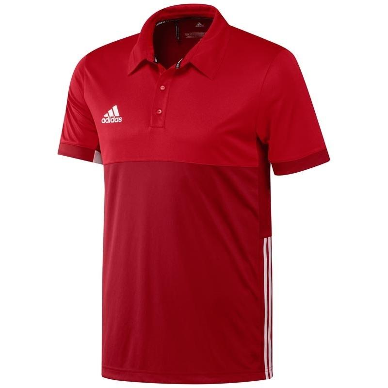 Adidas T16 Climacool Polo Men Red DISCOUNT DEALS