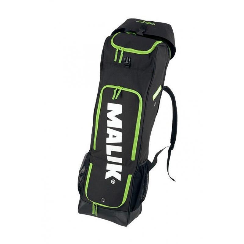 48e3b52e02d De Malik Jumbo Stickbag Black hockeytas - online bestellen