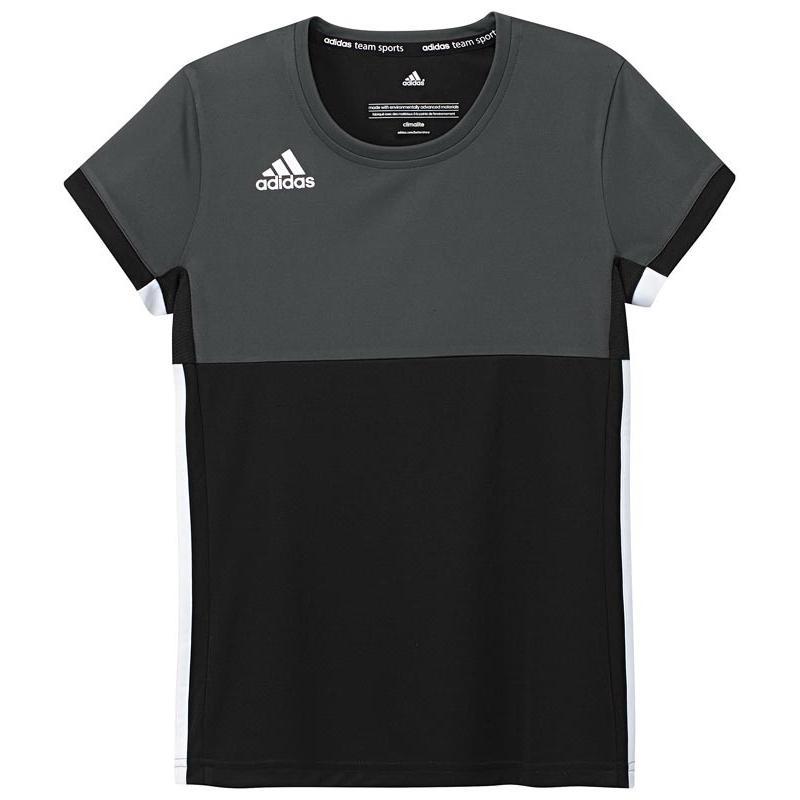 Adidas T16 Climacool Short Sleeve Tee Jeugd Meisjes Black DISCOUNT DEALS