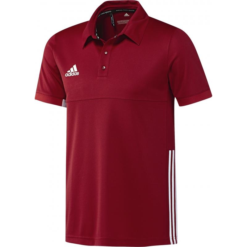Adidas T16 Team Polo Men Red DISCOUNT DEALS