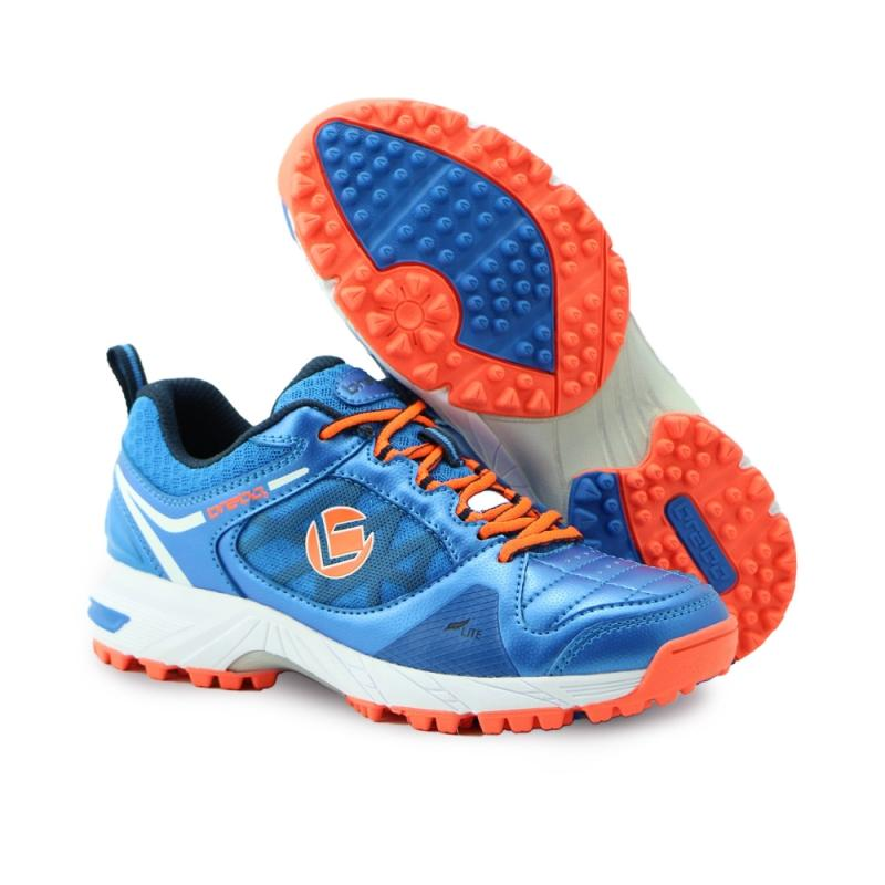 Brabo Tribute hockeyschoenen Blue/Orange