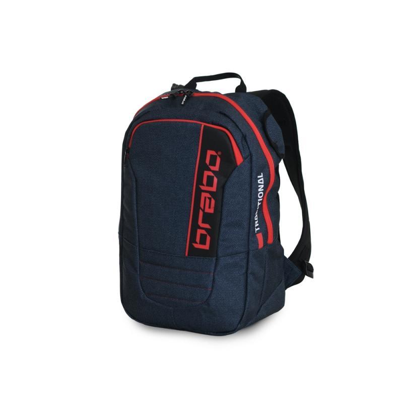 Brabo Backpack SR Trad. Denim Bl/Yl
