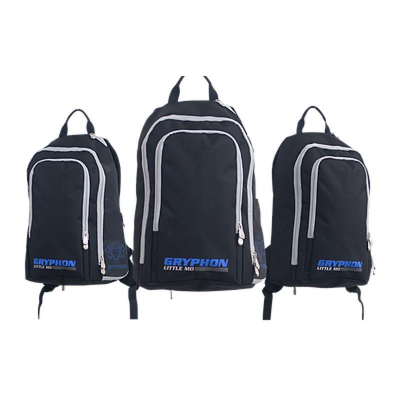 4762c0d16c4 Shop | Hockeytassen | Rugzakken | Gryphon Little Mo Black/Blue.  352.80060.010_1