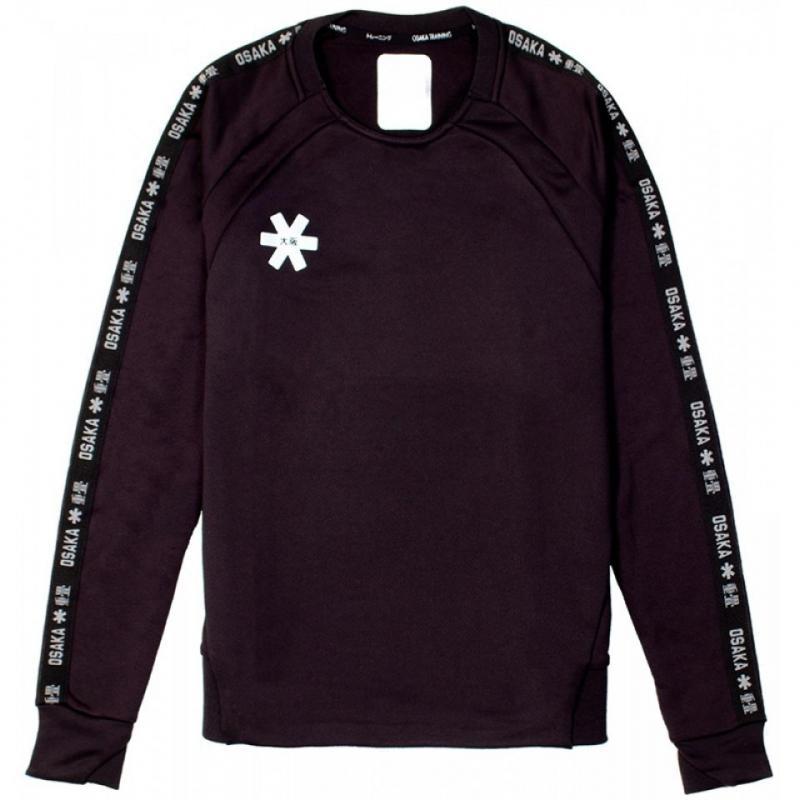 7abf127241f Osaka Training Sweater Women - Black Osaka kleding | Osaka Hockey ...