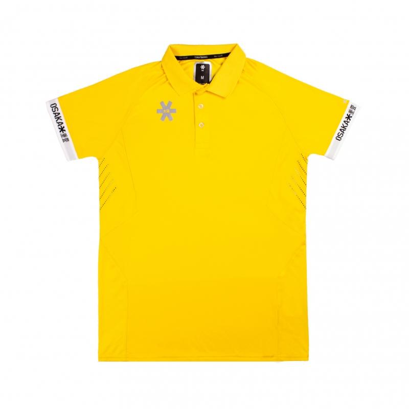 Osaka Team Polo Jersey Men - Yellow