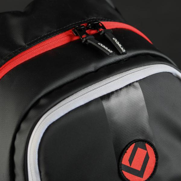 403f146707a Brabo Backpack JR TeXtreme Black/Red Rugzakken | Hockeytassen ...