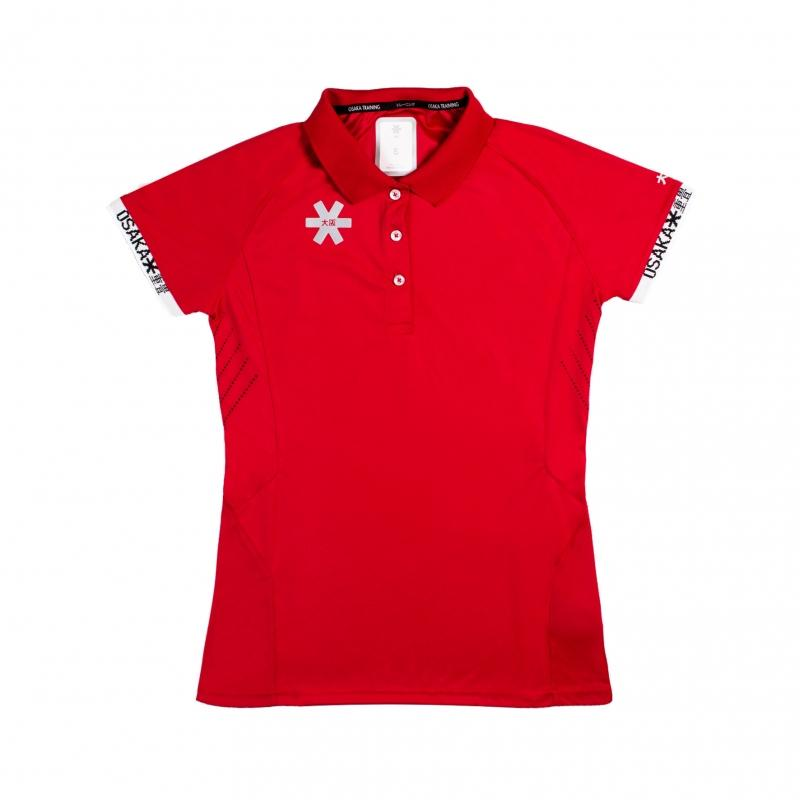 Osaka Team Polo Jersey Women - Red
