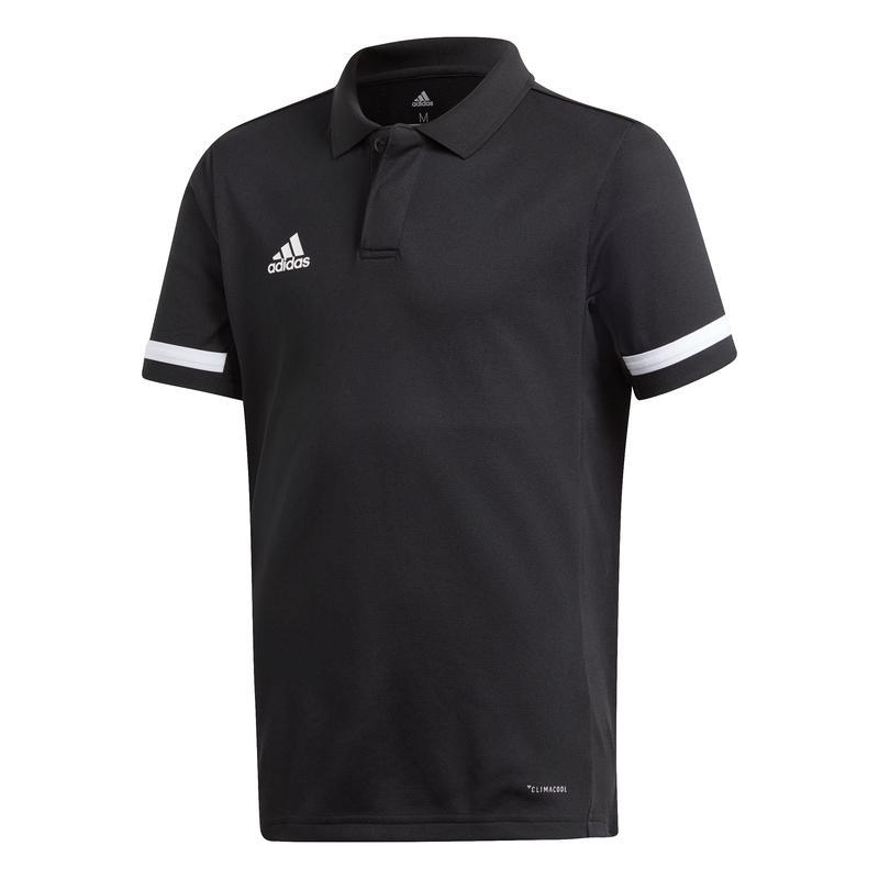 Adidas T19 Polo Jongens Zwart