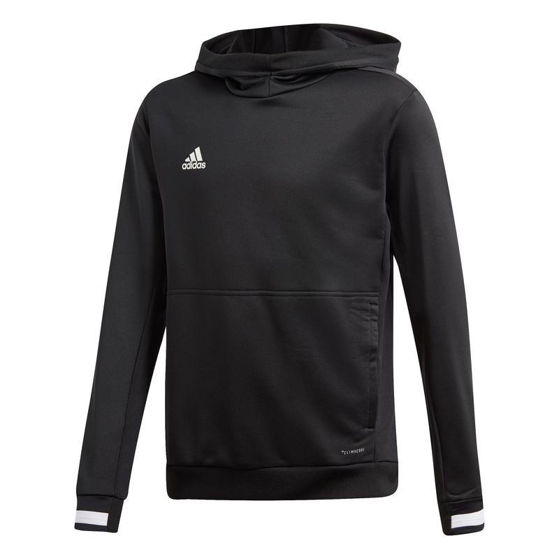Adidas T19 Hoody Jr Zwart