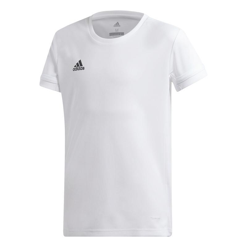 Adidas T19 Short Sleeve Tee Meisjes Wit