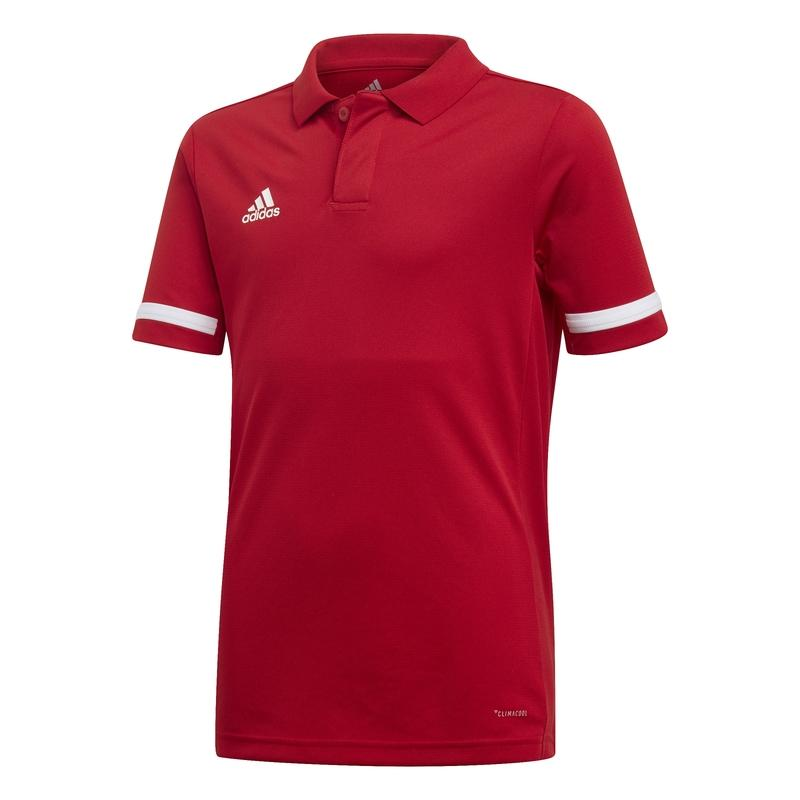 Adidas T19 Polo Jongens Rood