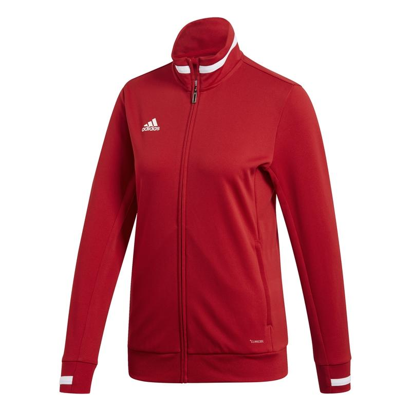 Adidas T19 Track Jacket Dames Rood