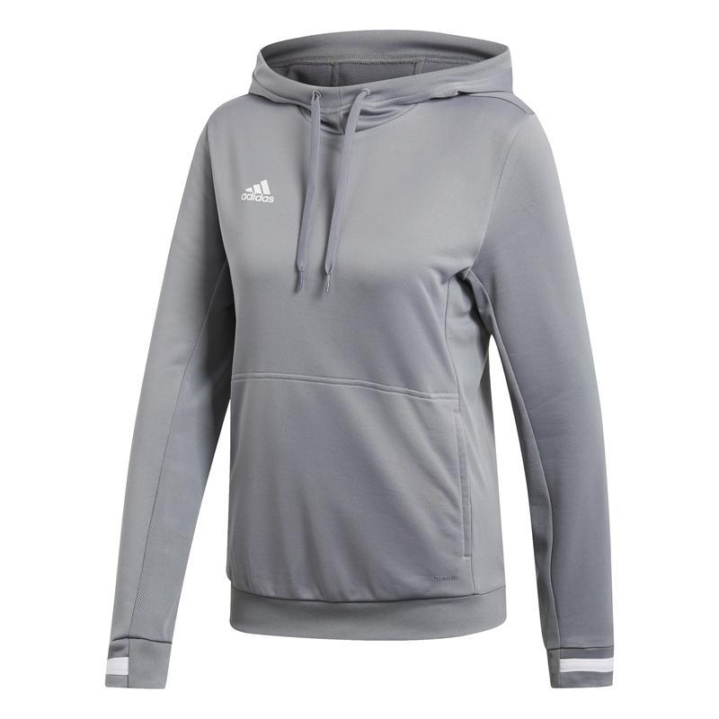 Adidas T19 Hoody Dames Grijs | Leverbaar vanaf 15-07-2019!
