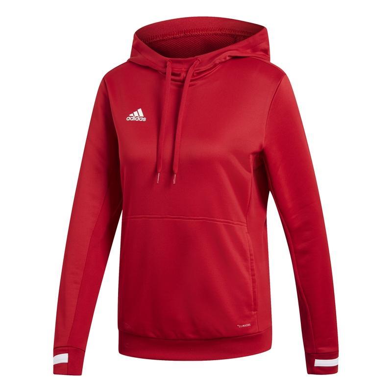 Adidas T19 Hoody Dames Rood