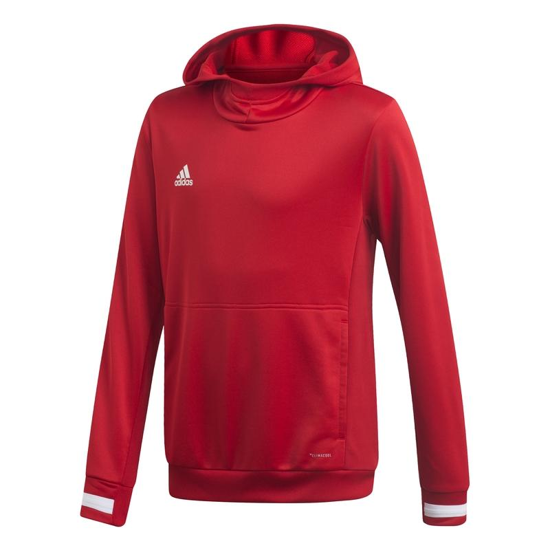 Adidas T19 Hoody Jr Rood