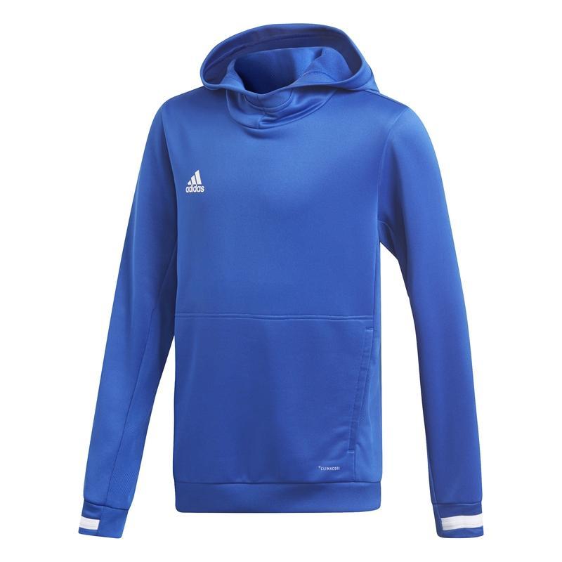 Adidas T19 Hoody Jr Royal Blauw | Leverbaar vanaf 15-07-2019!