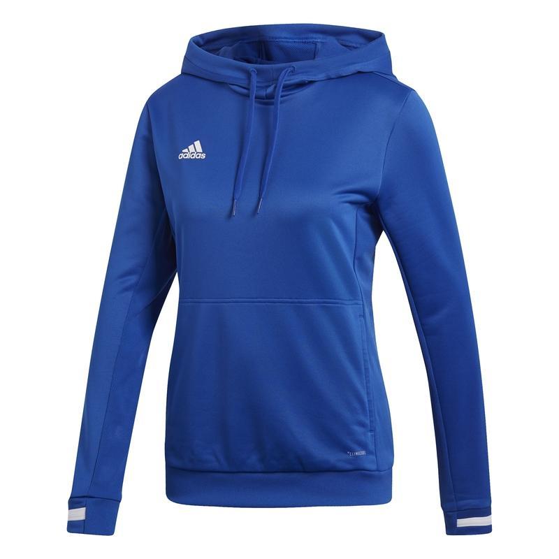 Adidas T19 Hoody Dames Royal Blauw | Leverbaar vanaf 15-07-2019!